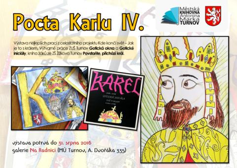 Pocta Karlu IV (galerie Na Radnici)-1